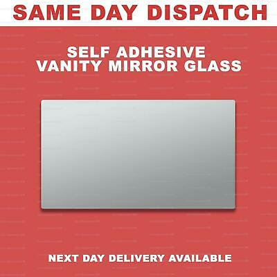 Car Vanity Mirror, Self Adhesive For Sun Visor Interior • 3.50£