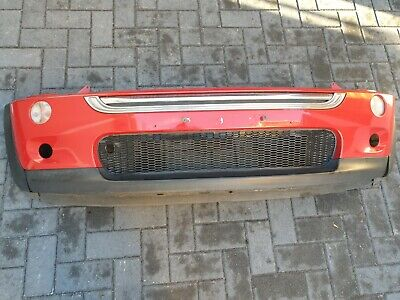 BMW Mini Cooper S R53 - Front Bumper In Chili Red • 80£