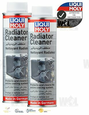 Liqui Moly Radiator Cleaner Flush 300ml Cleans Remove Deposits Cooling System 2x • 12.99£