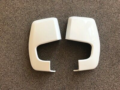 Ford Transit Custom 2012-20 Door Mirror Covers Frozen White Pair L/H & R/H  • 56£