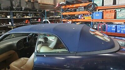 Saab 93 9-3 Convertible Roof Soft Top Blue 1999 • 150£