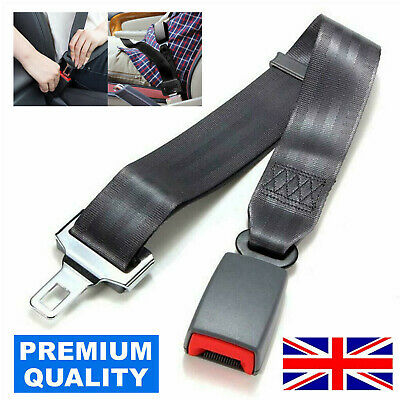 70cm Universal Safety Car Seat Belt Extender Support Buckle Extension Lock Clip • 8.75£