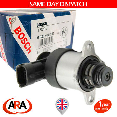 Bosch Suction Regulator Control Valve For Fiat Ducato 3.0 D Hdi 0928400757 • 46.59£