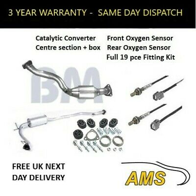 Catalytic Converter Exhaust Stolen For Honda Jazz 02-08 This Is The Kit You Need • 179.99£