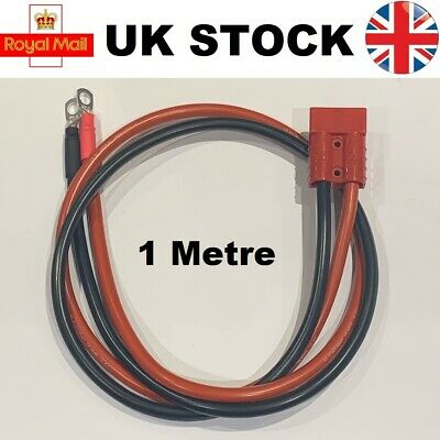 50A Pre Wired Anderson Connector Battery Assist Jump Lead Extension 16mm2 50 AMP • 14.99£