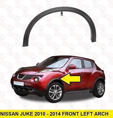 Nissan Juke 2010 – 2014 Front Wheel Arch Trim Left Moulding Outer With Clips • 64.99£