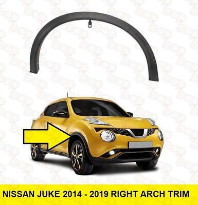 Nissan Juke 2014 - 2019 Front Wheel Arch Trim Right Moulding Outer With Clips • 64.99£