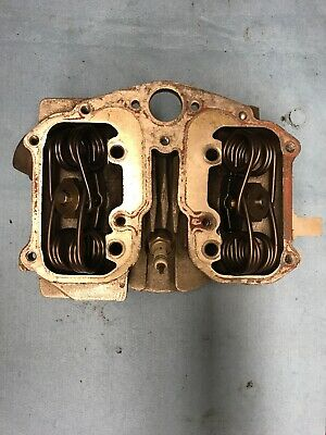 Velocette Viper Cylinder Head Complete With Valves • 200£
