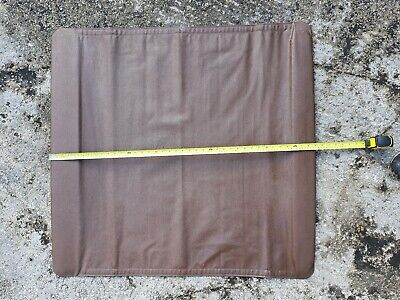 Original Webasto Britax Weathershield Folding Sun Roof Top Cover (NOS) In Brown. • 125£