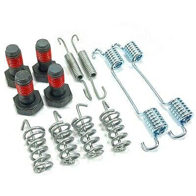 Handbrake Shoe Fitting Kit Springs Bolts Fits: Mercedes Vito W639 03-14 Bsf0622c • 7.74£