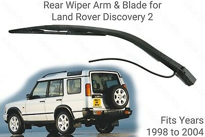Rear Wiper Arm Blade Washer Nozzle Land Rover Discovery 2 Td5 V8 1998 To 2004 • 11.99£
