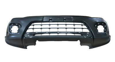 Front Bumper Black With Flare Holes For Mitsubishi L200 B40 2.5TD 11/2013-3/2015 • 112£