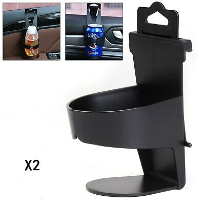 2X Universal Car Cup Holder Door Mount Seat Back Drinking Bottle Can Mug Stand • 5.39£
