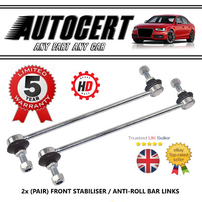 Toyota Prius (1.8) 09-16 Front Anti Roll Bar Stabiliser Drop Links X 2 Lh & Rh • 15.93£