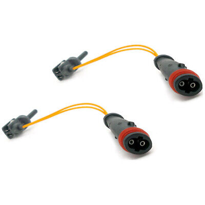 2x Brake Pad Wear Indicator Sensors Front Rear For Mercedes A B C E S Class • 5.94£