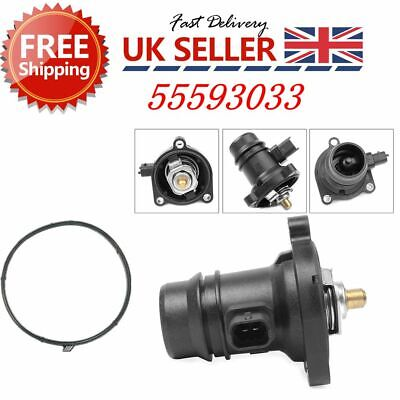 For VAUXHALL ADAM/ CORSA D /E 1.2 /1.4 THERMOSTAT HOUSING 55593033 2006 ONWARDS • 19.99£