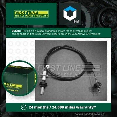 Clutch Cable Fits PEUGEOT 205 Mk2 Gti 1.9 90 To 94 Firstline 2150A7 Quality New • 12.61£
