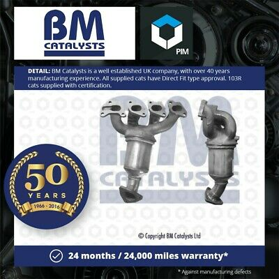 Catalytic Converter Type Approved Fits VAUXHALL CORSA C 1.2 00 To 06 Z12XE BM • 112.33£