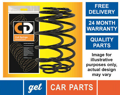 Front Coil Springs X2 For Skoda Octavia (1Z) 1.8 / 1.9 / 2.0 From 2004-2013 CD • 24.99£