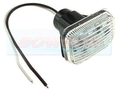Land Rover Defender Or Classic Mini Clear Led Side Repeater Indicator Light • 9.95£