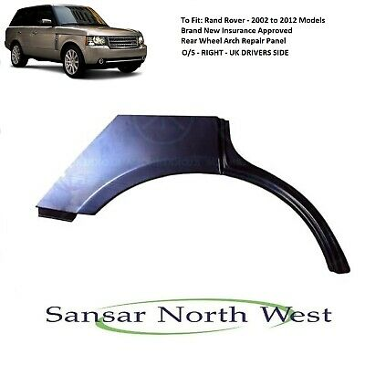 For Range Rover - Drivers Side Rear Wheel Arch Repair Panel O/S RIGHT 2002>2012 • 96£