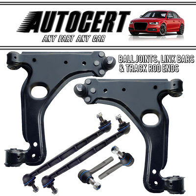 Vauxhall Astra 05-09 Front Control Arms Wishbones & Drop Links & Track Rod Ends • 51.96£