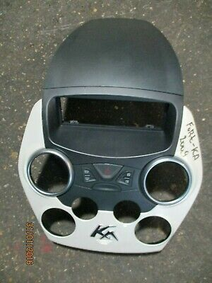 Ford Ka Mk2 New Shape Centre Console / Heater And Radio Surround White 08-15 • 24.99£