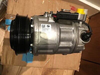 Bmw Genuine Rp A/c Compressor With Magnetic Clutch 64526842618 • 799£