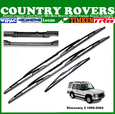 Land Rover Discovery 2 Wiper Blade Set Front & Rear - Oem Lucas Wiper Blades • 13.25£