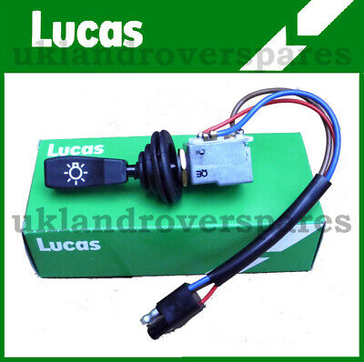 Land Rover Defender 90 & 110 Master / Main Light Switch  Oem Lucas  - Prc3430 • 26.45£