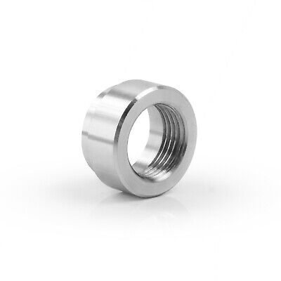 304 Stainless Steel Exhaust Lambda Boss Nut Weld-on M18 X 1.5 O2 Oxygen Sensor • 2.89£