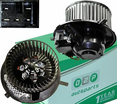 Heater Blower Motor Fan For Audi A3 (8p) Q3 Tt & Skoda Octavia Ii Superb Ii Yeti • 90.99£