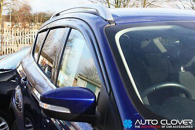 Auto Clover Wind Deflectors Set For Ford Kuga 2012 - 2019 (6 Pieces) • 28.99£