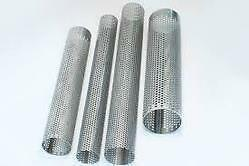 3  76mm X 10  Long Exhaust Repair Tube Stainless Steel Perforated Pipe • 6.49£