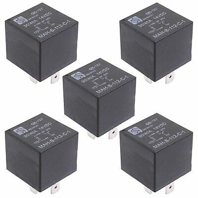 5 X 12V Automotive Changeover Relay 40A 5-Pin SPDT • 6.49£