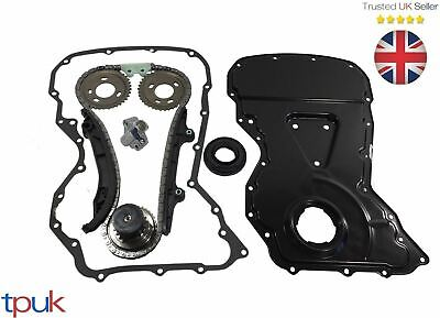 Citroen Relay Timing Chain Kit 2.2 Fwd 2006 On Front Cover / Sealant Crank Seal • 134.90£