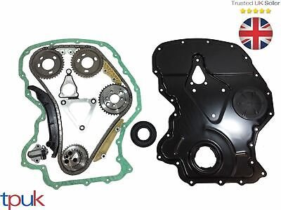 Ford Transit Timing Chain Kit 2.4 Rwd 2006- Mk7 Front Cover / Gasket Crank Seal • 153.90£