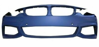 Bmw 4 Series F32 Coupe 2013- Front Bumper Primed M-Sport Pdc And Washer Holes • 125.97£
