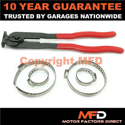 Car Atv Fits 99% Of Vehicles Cv Boot Clamps Pair X 2 & Ear Pliers • 8.99£