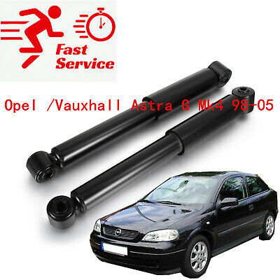 2x Rear Shock AbsorbersShockers Suspension For Opel /Vauxhall Astra G Mk4 98-05 • 29.68£