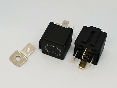 Quality Relay 12V 30 Amp 4 Pin Normally Open Contact • 2.35£