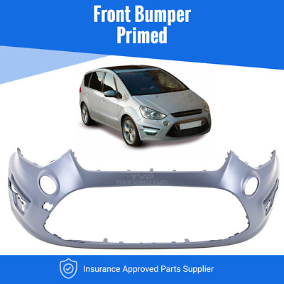 Ford S-Max 2010-2015 Front Bumper Primed Insurance Approved High Quality New • 163.17£