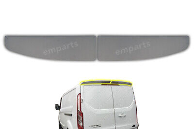 Transit Custom Rear Back Twin Barn Door Top Spoiler PU Unpainted 2012 Onwards • 55£