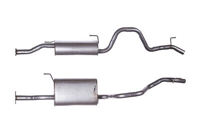 Exhaust Box With Tail Pipe / Rear Back Silencer For Isuzu Rodeo I GIS084 IS084 • 72.28£