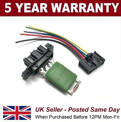 Citroen Jumper Nemo Relay Peugeot Boxer Bipper Heater Blower Loom PLUS Resistor • 17.74£