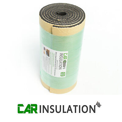 Car Sound Deadening Insulation 10mm Vehicle Proofing Closed Cell Foam 2m X 0.5 • 19.99£