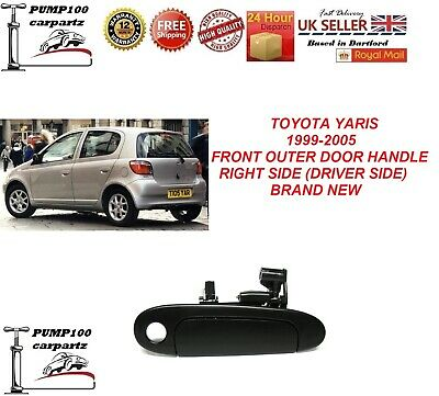 Toyota Yaris 1999-2005 Exterior Front Outer  Door Handle Rh Driver Side New • 14.30£