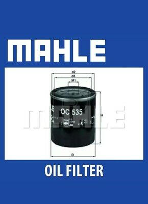 MAHLE FOR FORD C MAX 1.8D TDCI Oil Filter 07 To 10 TOP QUALITY MAHLE FILTER • 5£