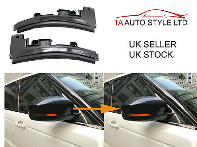 Dynamic Smoked Flowing LED Wing Mirror Indicator Light Range Rover Sport L494  • 74.95£