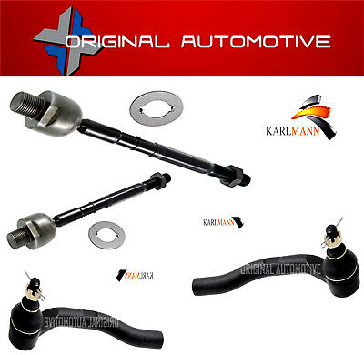 Fits HONDA CIVIC FK MK8 2006-2012 FRONT STEERING INNER & OUTER TRACK TIE ROD END • 69£